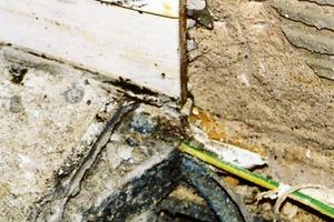 Bild8: Estrich-Randfuge mit ungerissener Wand<br />