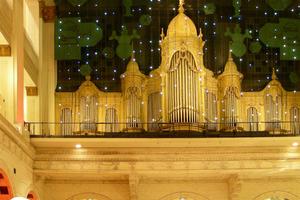 Kaufhaus Wanamaker mit Orgel (Arch.: Daniel Burnham)