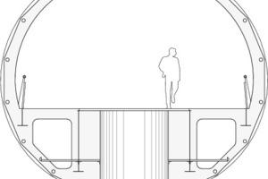 Detail-Schnitt AA, M 1:100<br />