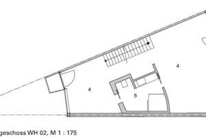 Grundriss OG, WH 2, M 1:175<br />