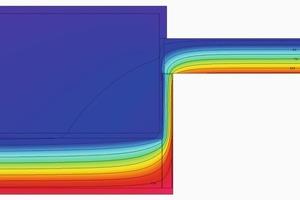 Durch die zusätzliche Dämmung der Fensterlaibung mit einer nur 20 mm dicken EPS-Platte, wie z. B. der ThermoPlatte und dem Thermo-Profil aus dem Rigitherm-System von Rigips steigt die Oberflächentemperatur in der Fläche der Laibung auf mehr als 13,0°C<br />