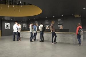 "Ausstellungsbau ""Pergamon. Das Panorama"": Foyer"