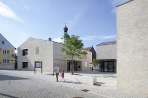 Hauptpreis 2: Die neue Ortsmitte von Wettstetten von Bembé Dellinger Architekten, Greifenberg