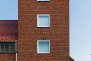 """2. Platz Gesamtsieger und Sieger Kategorie """"Wohungsbau, Geschosswohnungsbau"""": Lakerlopen (2010), Architekten: biq stadsontwerp bv"""
