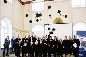 Geschafft: Absolventenverabschiedung 2011 in Wismar<br />