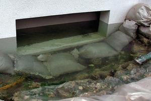 Bild8: Flutung des Hochwasserschutzsystems