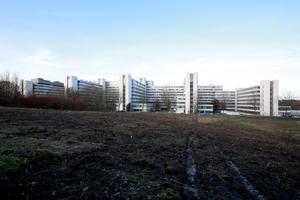 Der gebaute Helmut Schelsky: Reformuniversität Bielefeld, Südansicht (Architektengemeinschaft Köpke, Kulka, Töpper, Siepmann und Herzog)