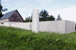 Ost-Ansicht Steinskulpturenmuseum der Fondation Kubach-Wilmsen<br />