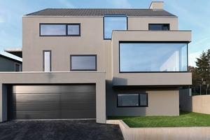 """Es sieht einfach aus, bedarf allerdings gründlicher Planung: """"Haus F"""" in Denkendorf<br />"""