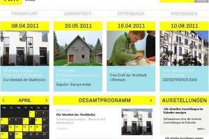Der Architektursommer beginnt am 16. April 2011; und heute schon im WWW