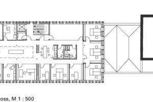 1. Obergeschoss, M 1:500<br />