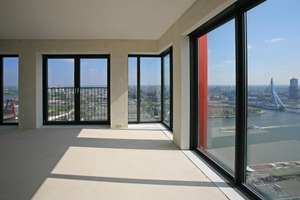 Hier zu wohnen ist ein Angebot  für eingefleischte Urbanisten – spätestens am Abend im 35. Stock wird man drinnen zum heftigen Befürworter der Hochhausphilosophie