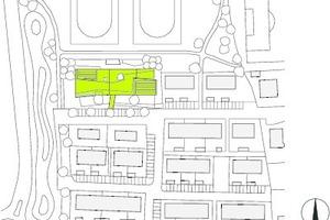 Lageplan, M 1:3500