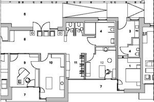 Teilgrundriss 2, Erdgeschoss, M 1:200