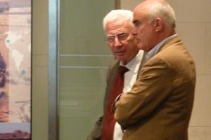 Jörg Schlaich und Rudolf Bergermann