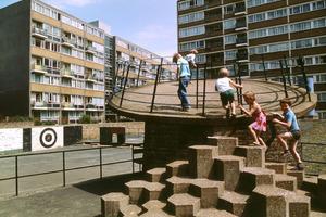 Churchill Gardens Estate, Pimlico London, 1978