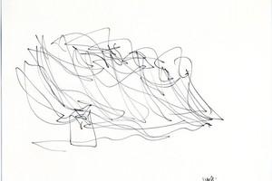 Skizze von Frank Gehry