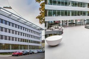 Preisträger: Das Kollegiengebäude Mathematik des Karlsruher Instituts für Technologie (KIT)