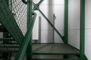 Treppenhaus: zweckmäßig