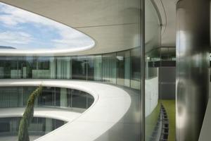 Wichtig für den Entwurf war die maximale Transparenz: nach außen, aber auch im Inneren des Gebäudes<br />