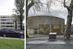 Mies' Wohnungsbau in Stuttgart-Weißenhof. Vorbild für Berlin? Bauplatz Tanköllager, hier sollen<br />in ein paar Jahren auch Kinder spielen dürfen