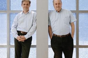 Rainer (l.) und Richard Fuchs, Inhaber des Ingenieurbüros Fassadentechnik GmbH, München<br />
