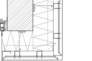 Laibung FC-Fassade, M 1:7,5
