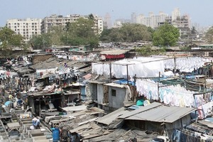 """Dharavi: """"Slum"""" in Mumbai, Indien"""