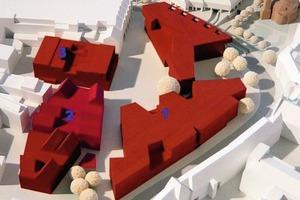 Stubengasse (1), Hanse Carré (2) und altes Parkhaus (3)<br />