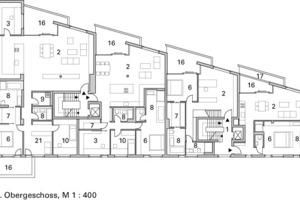 2. Obergeschoss, M 1:400<br />