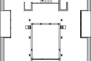 2. Obergeschoss, M 1:250