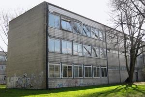 Die Fassade im Bestand und nach der Sanierung<br />