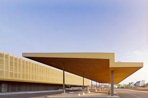 Preis: Busbahnhof + P+R Gebäude in Nördlingen von Morpho-Logic I Architektur + Stadtplanung.