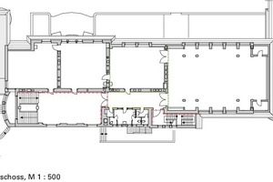 Dachgeschoss, M 1:500<br />