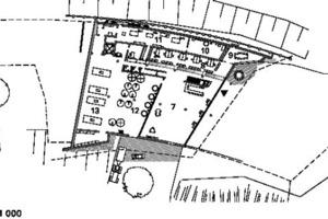 Grundriss Ebene 2, M 1:1000