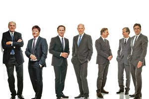 """<div class=""""fliesstext_vita""""><strong>Hentrich-Petschnigg &amp; Partner GmbH + Co. KG (HPP)<br />v.l.n.r.: Joachim H. Faust, Gerhard G. Feldmeyer, Remigiusz Otrzonsek, Burkhard Junker, Werner Sübai, Gerd Heise, Volker Weuthen </strong><br /><br />Das Büro HPP realisiert seit 80 Jahren im In- und Ausland Gebäude in den Bereichen Corporate Headquarters, Hotel- und Krankenhausbauten, Sport- und Freizeiteinrichtungen, Shoppingcenter, Verkehrsbauten, Städtebau, Wohnungsbau, Sanierung und Denkmalschutz. Das Tätigkeitsfeld von HPP umfasst sämtliche Architekten- und Generalplanerleistungen. Die Architektenpartnerschaft arbeitet seit der Gründung durch Professor Hentrich im Jahr 1933 in der vierten Generation und ist heute mit 320 Mitarbeitern national und international vertreten. Der Hauptsitz von HPP Architekten liegt im Düsseldorfer Medienhafen.</div>"""