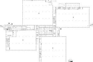 Grundriss Erdgeschoss, M 1 : 2500