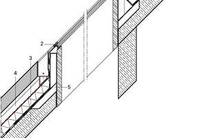 Detail Oberlicht-Fensterelement, M 1:33 <sup>1</sup>/3