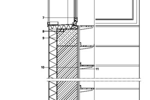 Fassadenschnitt 1, M 1:25