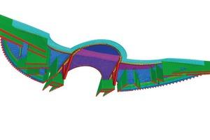 Bild 9: Dachschale Untersicht