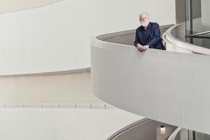 James Turrell auf der Treppe made bei shl