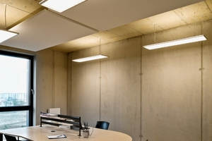Bedarfsgerecht und funktional ausgelegt, wird die LED-Beleuchtung im Technologie- und Gründerzentrum tageslicht- und präsenzabhängig gesteuert. Mit dynamischen Lichtwechseln wird der Biorhythmus der Mitarbeiter unterstützt<br />