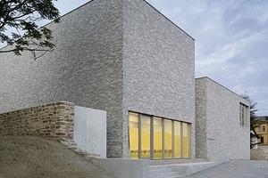 """Anerkennung: Erweiterungsbau des Museums Luthers Sterbehaus in Eisleben in mehrschaliger Bauweise von Architekt """"von M"""", Stuttgart"""