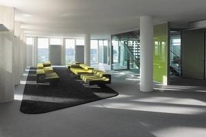 Der Primärenergiebedarf des Gebäudes liegt - mit dezentraler, fassadenintegrierter Lüftungsanlage - rund 20 Prozent unter den Forderungen der Energieeinsparverordnung