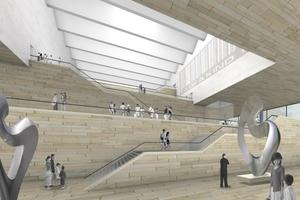 Entwurf Tianjin Art Gallery - KSP Architekten, Braunschweig