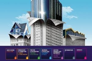 Eine Baufachmesse, die international Akzente setzt: die Batimat 2009 in Paris<br />