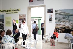 "Ausstellung im deutschen Pavillon ""Making Heimat. Germany, Arrival Country"""