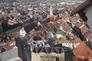 Blick vom Schlossberg auf die Dachlandschaft