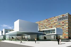 Sedus Bürogebäude und Showroom in Dogern, Wettbewerb 2008<br />