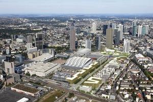 Masterplan Europaviertel, östlicher Teil, Visualisierung<br />